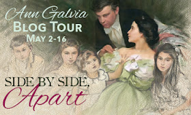 Side by Side, Apart by Ann Galvia - Blog Tour