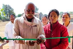 मालहनवाड़ा में हुआ हैल्थ एवं वैलनेस सेंटर का उद्धघाटन