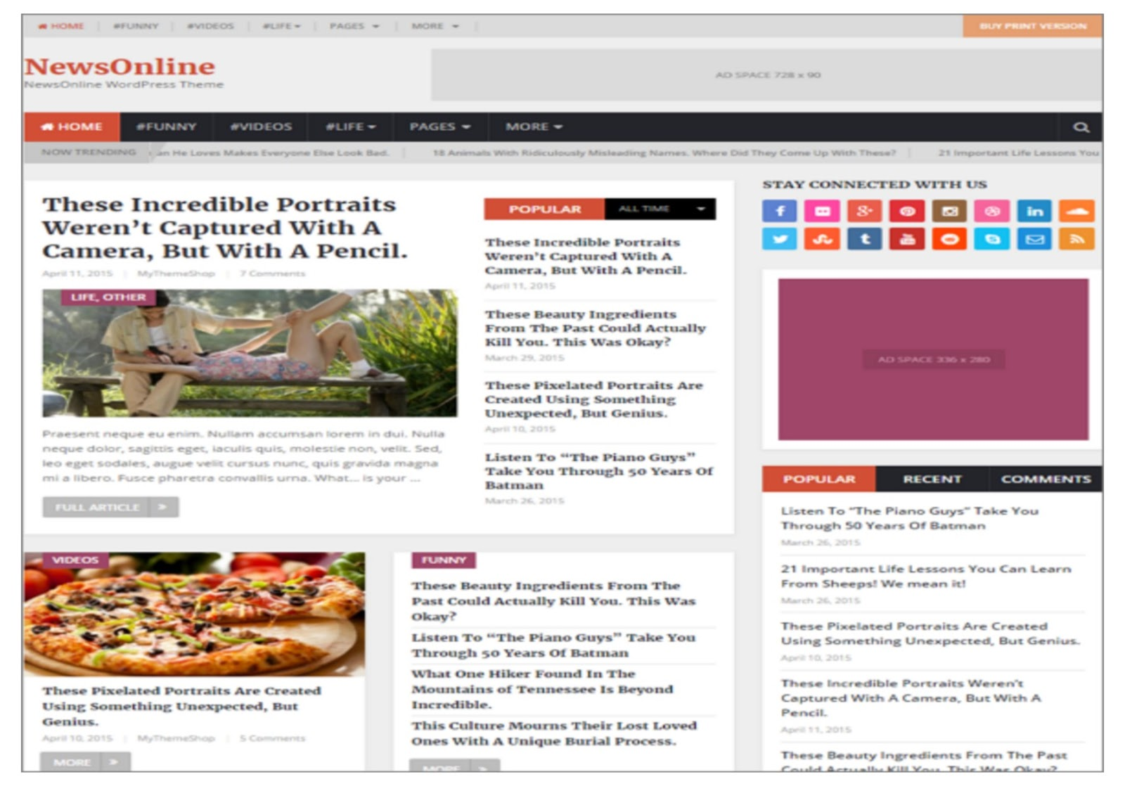 News Online Magazine Theme