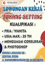 Lowongan Kerja di Central Media Surabaya September 2021