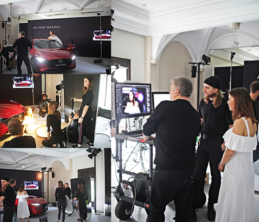 shooting rankin kate moss mazda 3