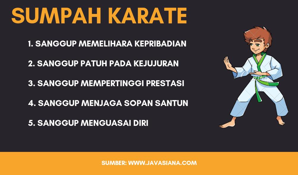 Sumpah Karate