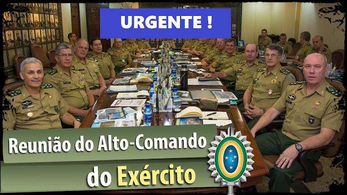 """Alto-Comando do Exército em """"Alerta"""" com soltura de Lula"""