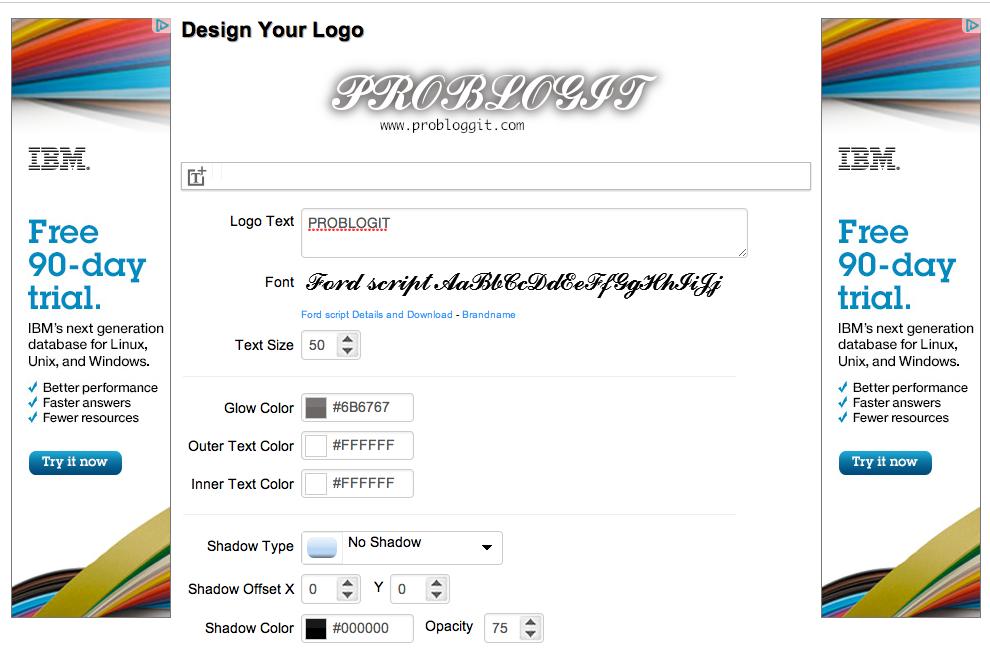 Cara Membuat Logo Blog di Internet Dengan Mudah
