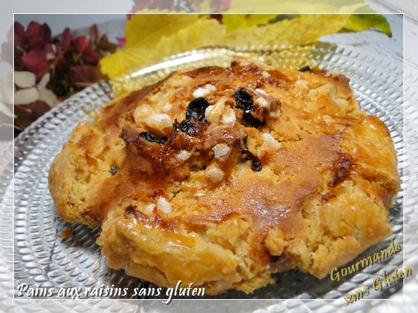 pain aux raisins sans gluten, viennoiserie sans gluten