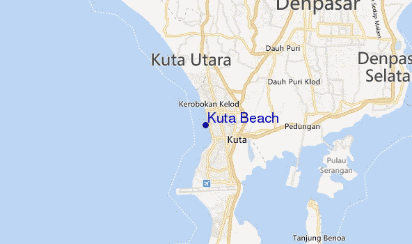 maps of beaches in bali
