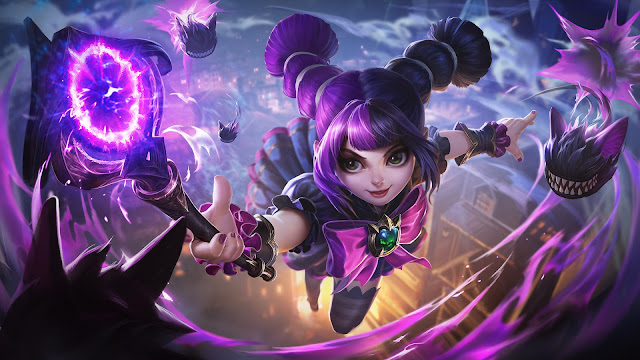 Lylia Little Wizard Heroes Mage of Skins ML HD Wallpapers