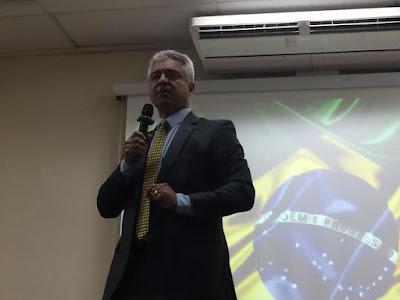Major Olimpio faz palestra para alunos da Guarda Civil sobre a Reforma Previdenciária