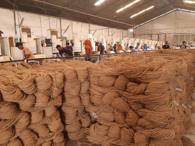 Pemanfaatan Limbah Sabut Kelapa Secara Komersil Menjadi Cocofiber, Cocodust Dan Cocopeat