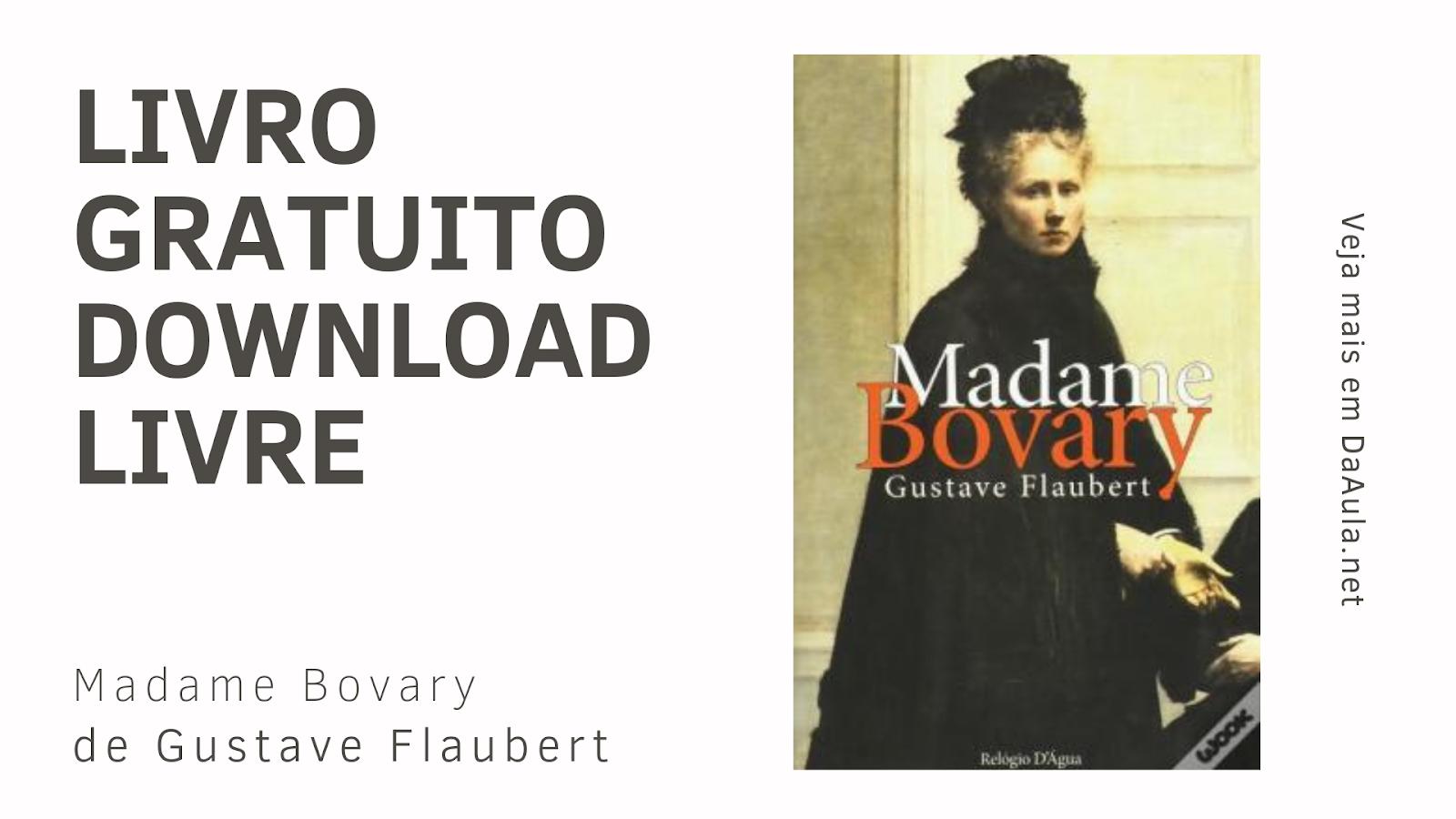 Livro: Madame Bovary de Gustave Flaubert