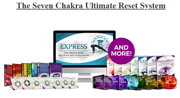 Seven Chakra Ultimate Reset System, Chakra Reset Program, Dynamic Chakra Quiz, Cosmic Chakra Secrets reviews SCAM OR LEGIT? 7 months of the Chakra Reset System, including weekly reminders and the Sound Baths and Yoga Sessions