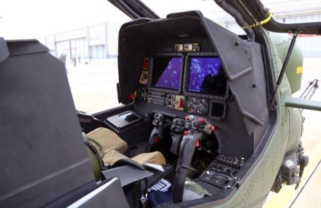 TAI T129 ATAK cockpit