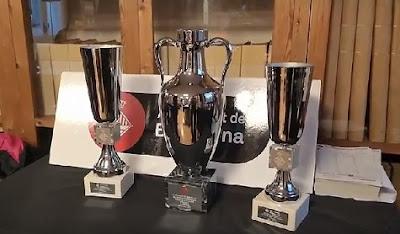 Trofeos del Torneo Magistral Internacional Ciudad de Barcelona 2017