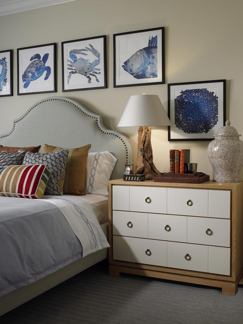 Coastal Bedroom: Willow Bee Inspired: Well Dressed Home No. 16