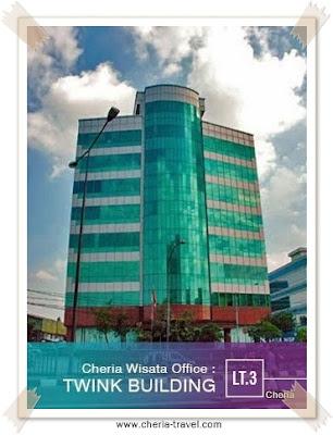 alamat kantor pusat cheria travel