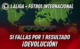 "sportium Fútbol: Combinada ""con seguro"" 13-15 septiembre 2019"