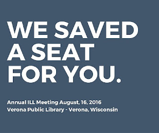 Annual ILL Meeting August 16, 2016 Verona Public Library