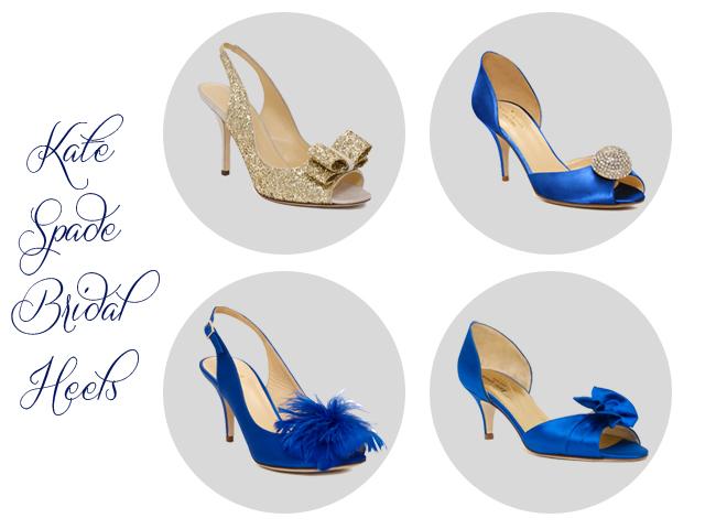 Blue Bridal Shoes Canada
