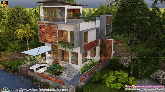 Contemporary style top view design
