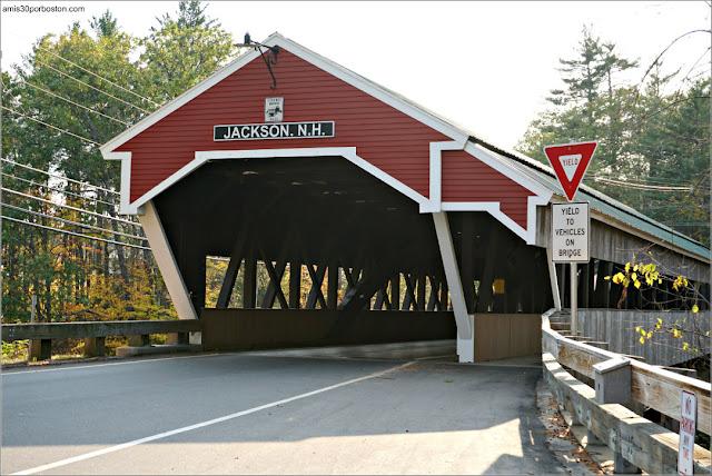 Puente Cubierto de Jackson en New Hampshire