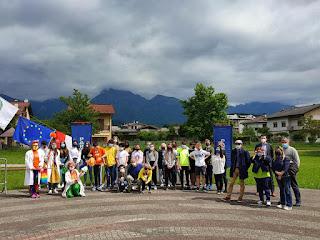 Premiazione 1km al giorno Scuola Media Rocca dell' Istituto Comprensivo di Feltre e 31 maggio 2021