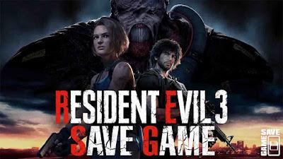 resident evil 3 remake 100 save game