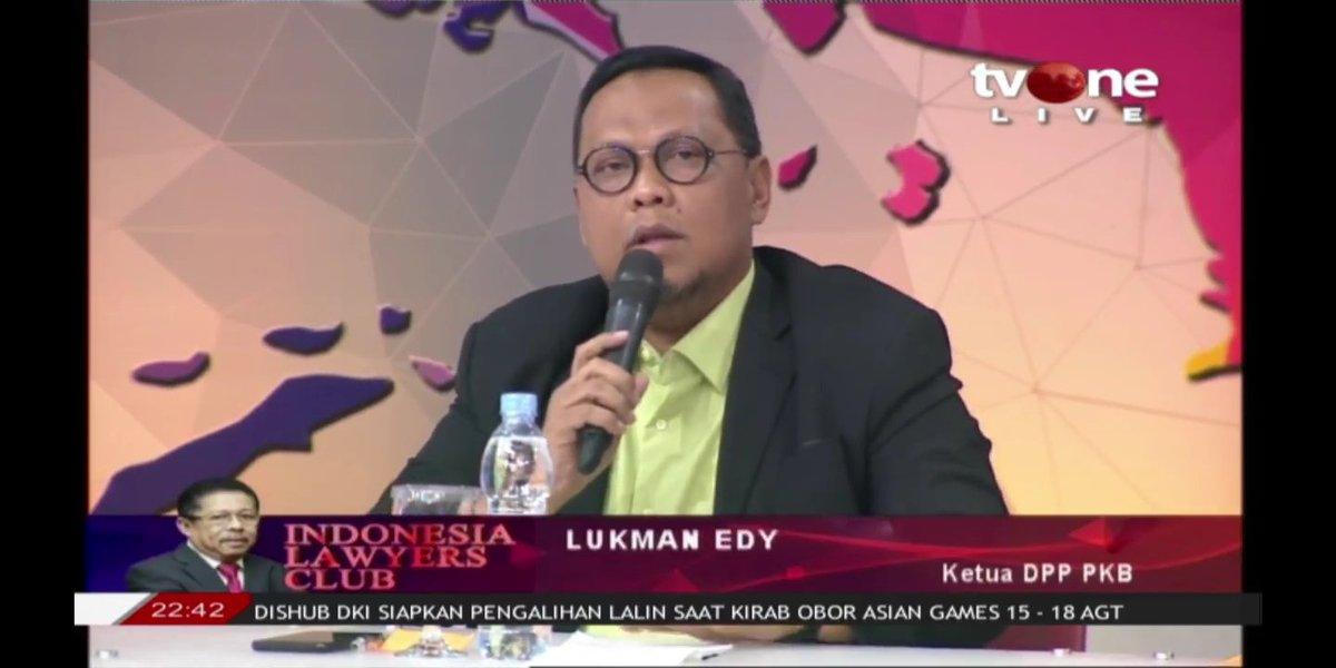 Lukman Edy: Jokowi Mendapat Wangsit dari Allah SWT