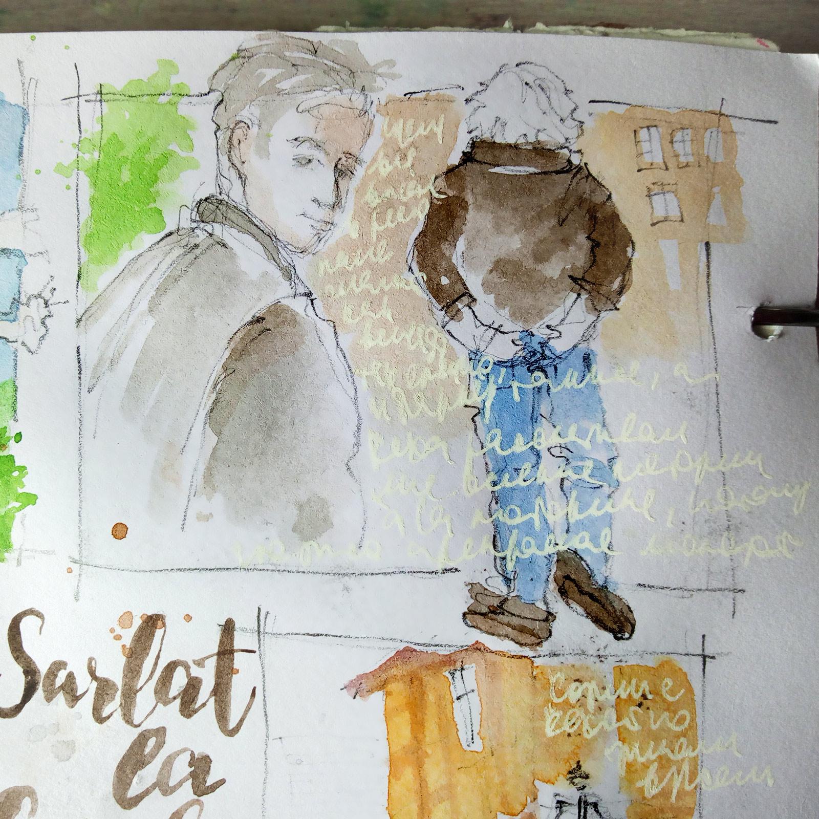 Sarlat-la-Caneda-sketch