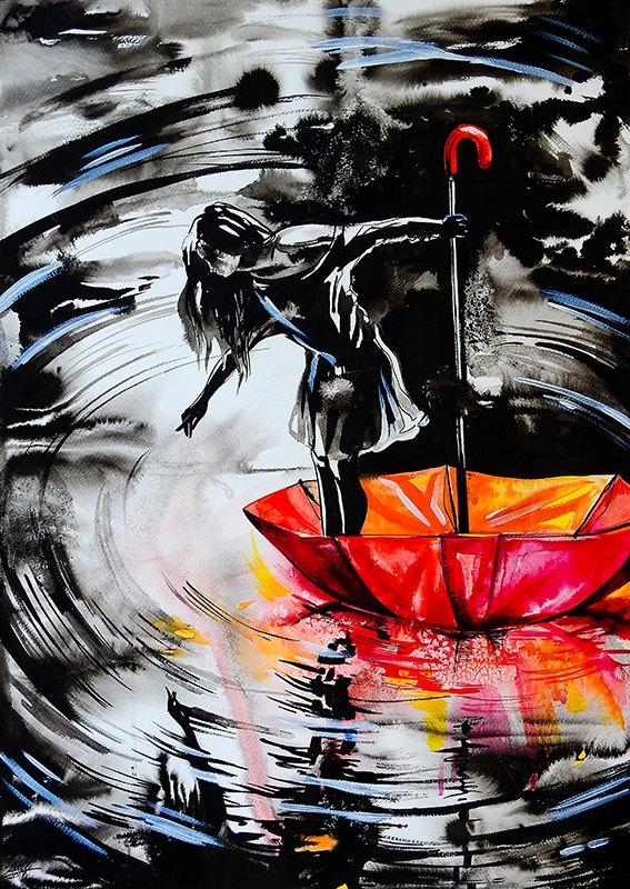 08-On-Muddy-Waters-Vivien-Szaniszlo-Movement-Captured-with-the-Dancing-Ballerina-Paintings-www-designstack-co