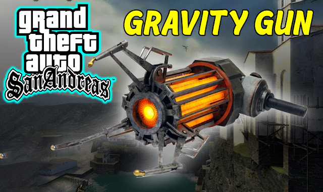 GTA San Andreas Gravity Gun Mod Pc