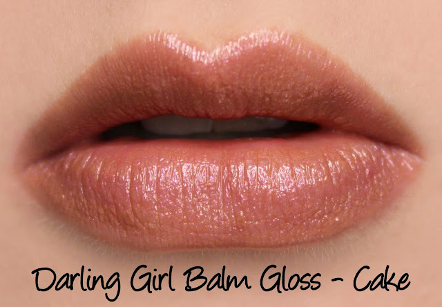 Darling Girl Balm Gloss - Cake Swatches & Review