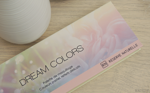 revue avis test reserve naturelle palette dream colors