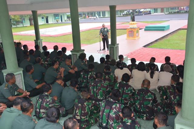 Danrem 022/PT Tekankan Prajurit Bijak Menggunakan Media Sosial