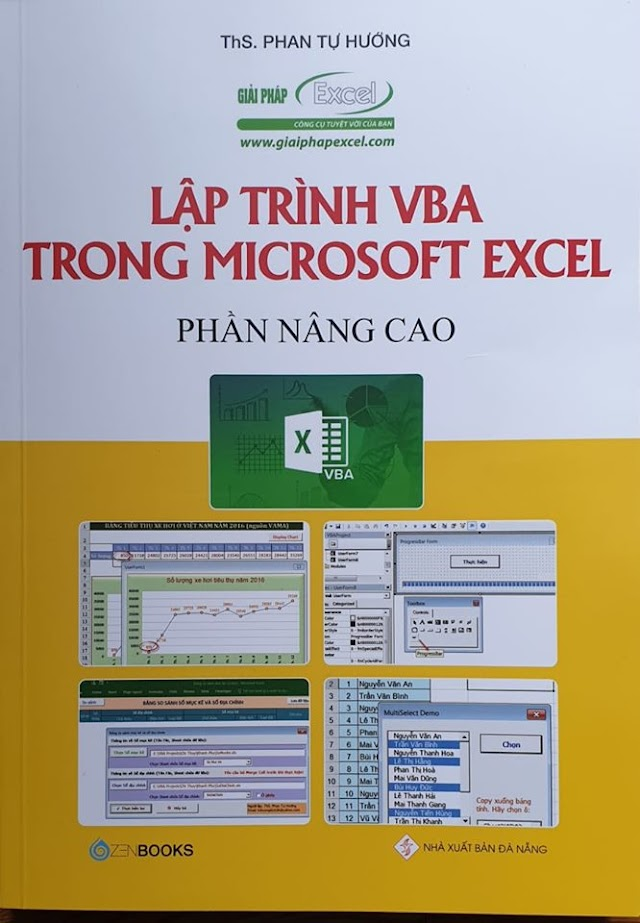 Lập trình VBA trong Microsoft Excel - Phần cơ bản và nâng cao 2019