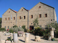 Kibbutz Nahsholim, Hamizgaga Museum, the Glass factory