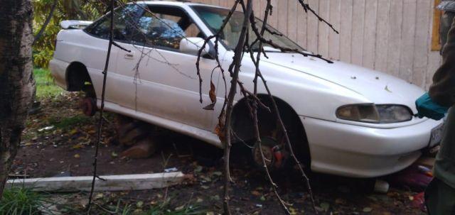 Auto recuperado por Carabineros