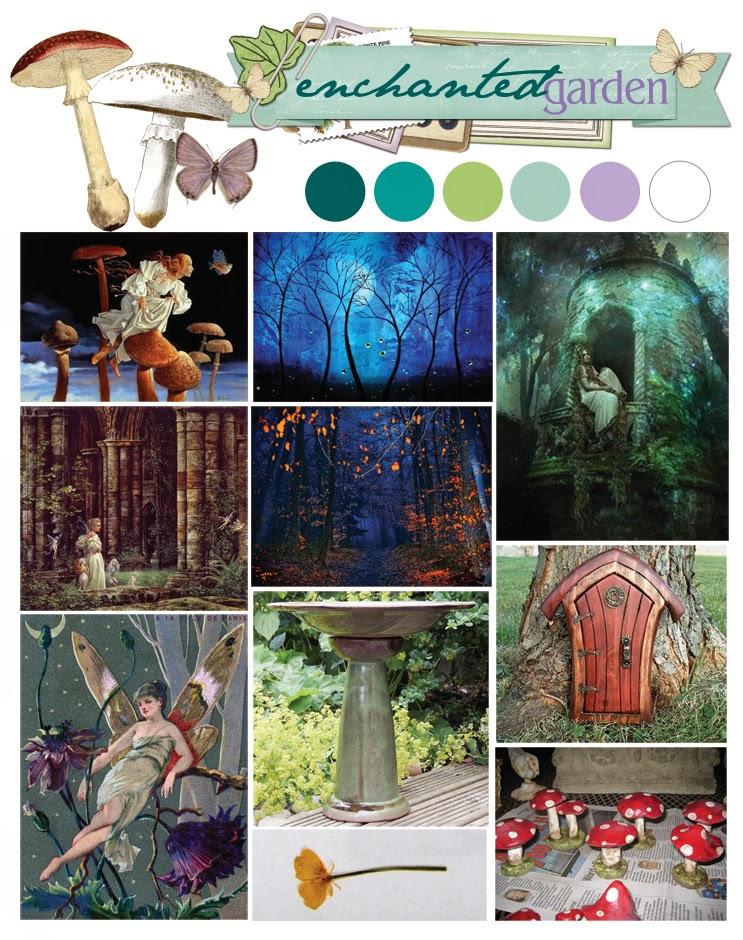 Enchanted Garden: BoBunny: BoBunny Enchanted Garden