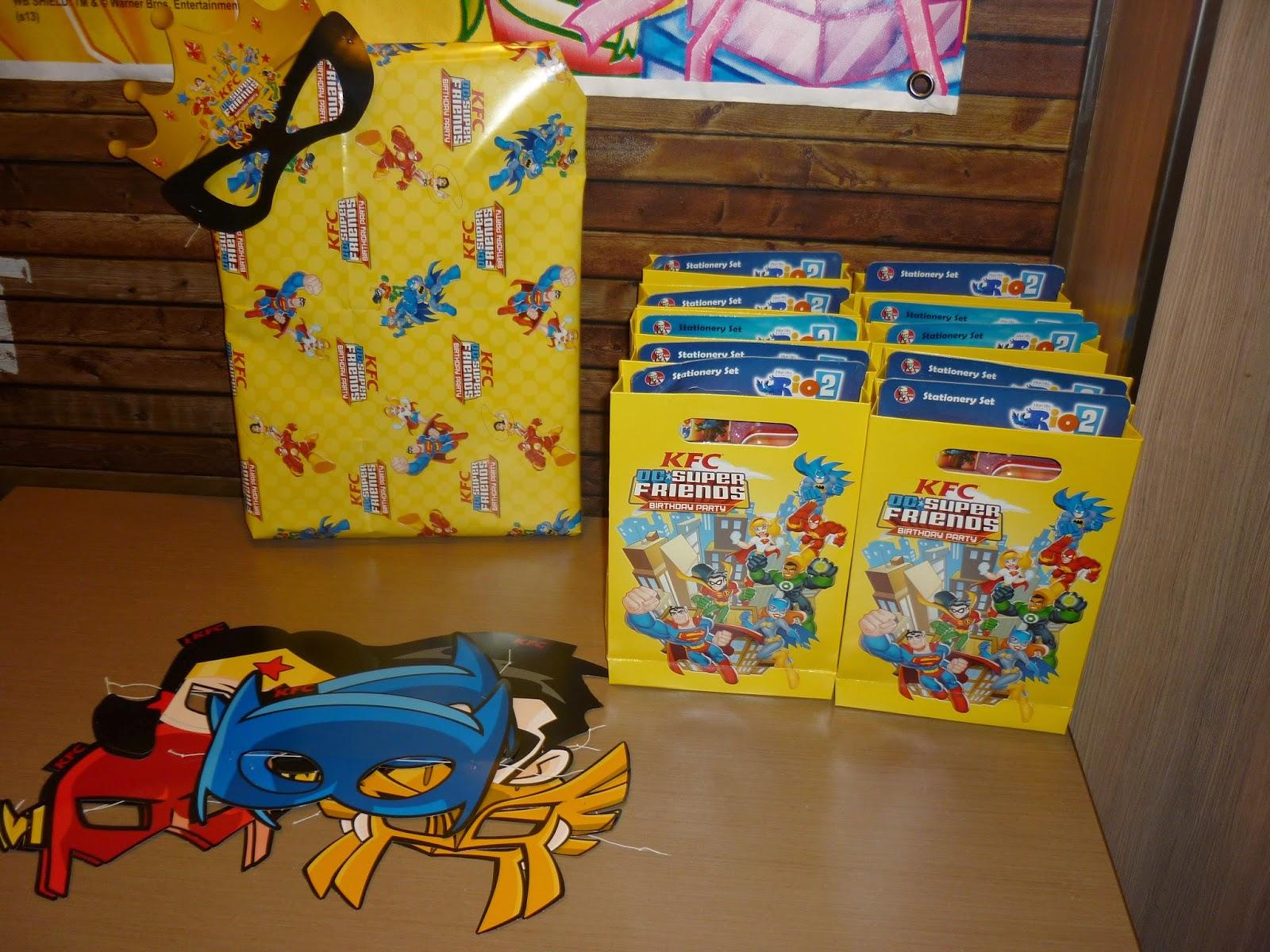 My Girls Birthday Party Kfc Aeon Big Wangsa Maju Weekend Treat