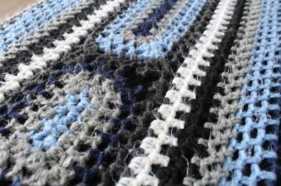 crochet, yarn, Caron, United, afghan, review