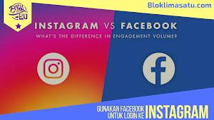Cara Masuk/ Login Instagram instagram By Facebook/ FB