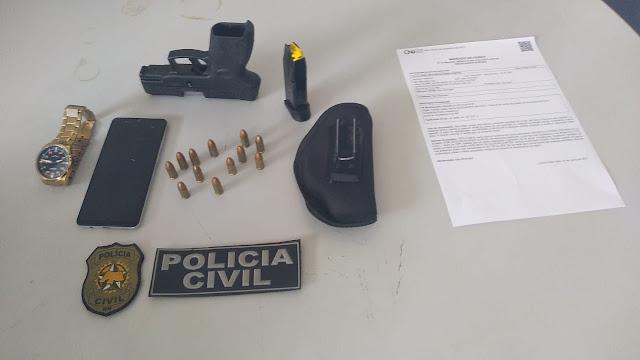 Polícia Civil prende suspeito por roubo e latrocínio em Mossoró