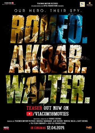Poster Of Hindi Movie Romeo Akbar Walter 2019 Full HD Movie Free Download 720P Watch Online