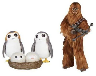 San Diego Comic-Con 2018 Exclusive Star Wars Forces of Destiny Chewbacca & Porgs Set