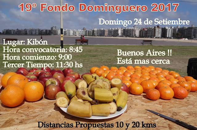19º Fondo Dominguero 2017 en Kibón (Montevideo, 24/sep/2017)