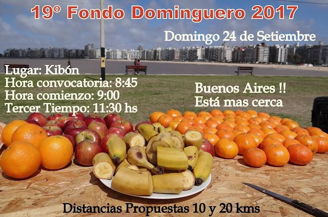 19º Fondo Dominguero 2017 en Kibón (Montevideo, 24/sep/2017)