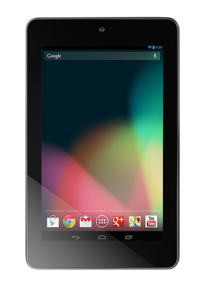 Google Nexus 7 Comes in a 32 GB Version
