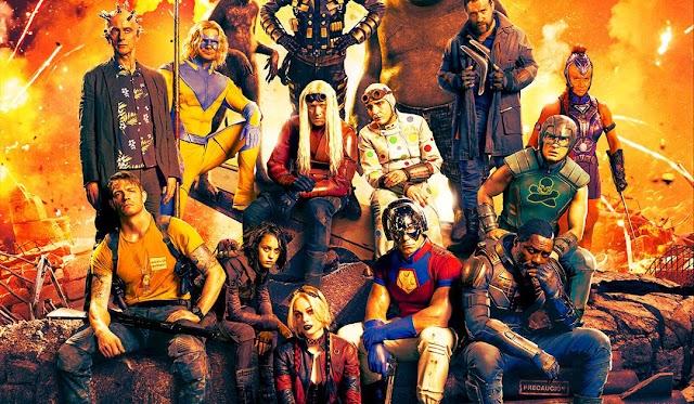 Planeta no Cinema DC: James Gunn divulga pôster do Esquadrão Suicida inspirado em gibi antigo