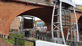 The Simpsons graffiti in Newcastle