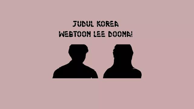 Judul Korea Webtoon Lee Doona!