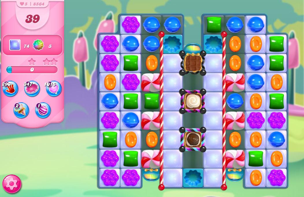 Candy Crush Saga level 8564